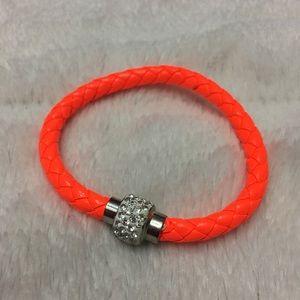 (P2) Orange Magnetic Bracelet